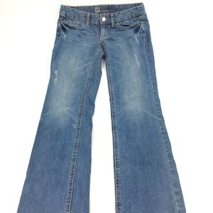 Mossimo Boot Cut Low Rise Denim Jean's Sz 4 P407